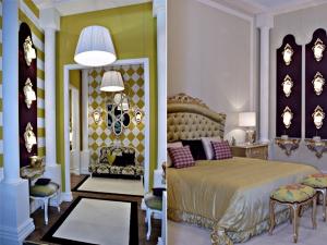 «Леопардовые» тона для мебели