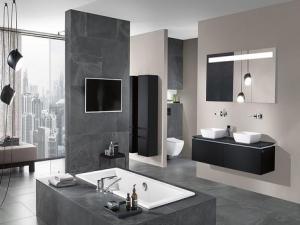 Мебель Legato — яркий финальный аккорд в Bathroom Poetry