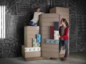 Мебельная коллекция в стиле Lego