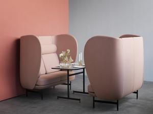 Симбиоз домашних и офисных диванов по проекту Хайме Айон