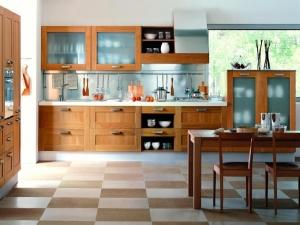 Дубовая коллекция мебели от GeD Cucine