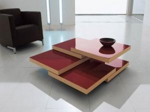 Журнальный столик с несколькими ярусами