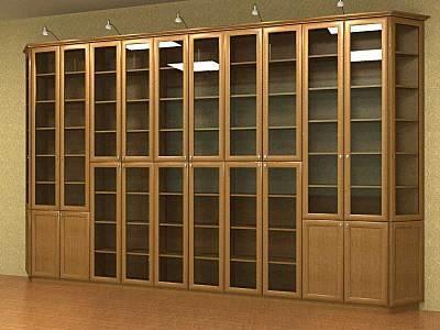 Библиотеки для частных и коммерческих помещений.