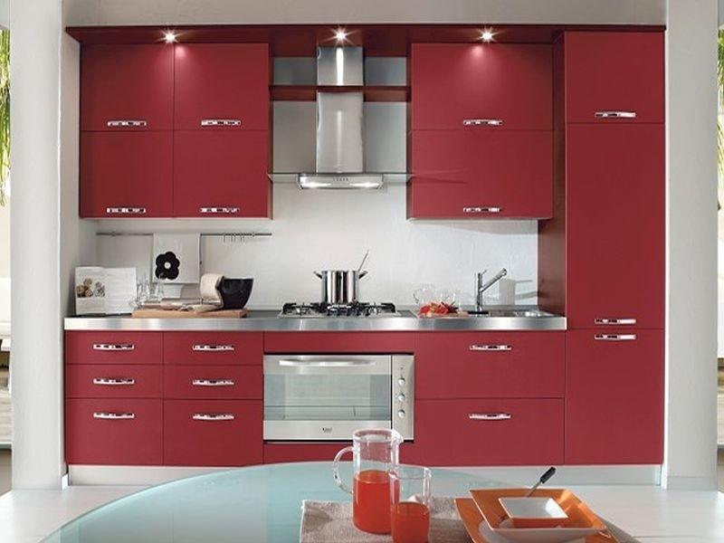 Кухонный гарнитур дизайн прямой