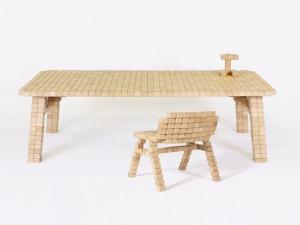 Голландская коллекция мебели Эрика Штеманна стала легендой