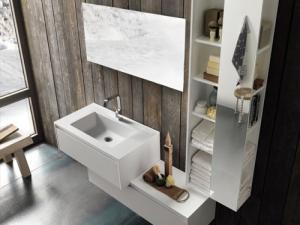 Утонченная простота ванной комнаты от Pedini