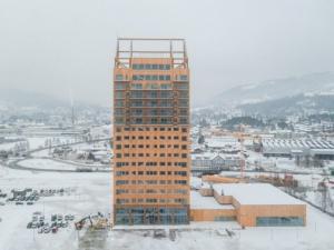 Норвежцы побили рекорд деревянного высотного строительства