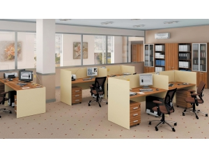 Серия офисной мебели Тандем Премиум представлена в марте